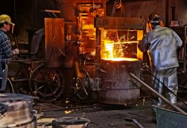 Foundry and smelting operation
